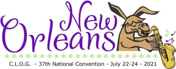 C.L.O.G. Convention heads to New Orleans July 22-24, 2021